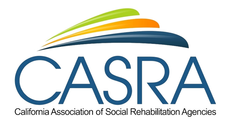 California Association of Social Rehabilitation Agencies footer