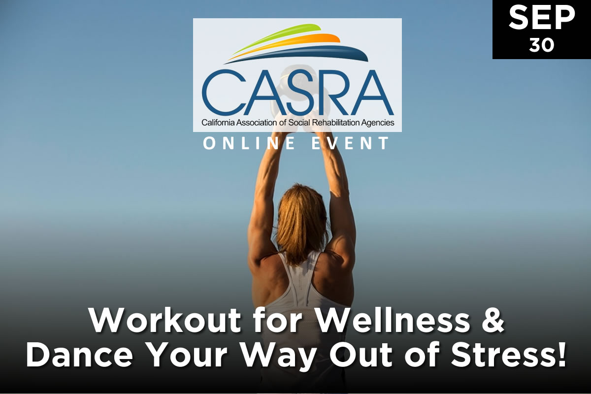 Workout for Wellness & Dance Your Way Out of Stress!