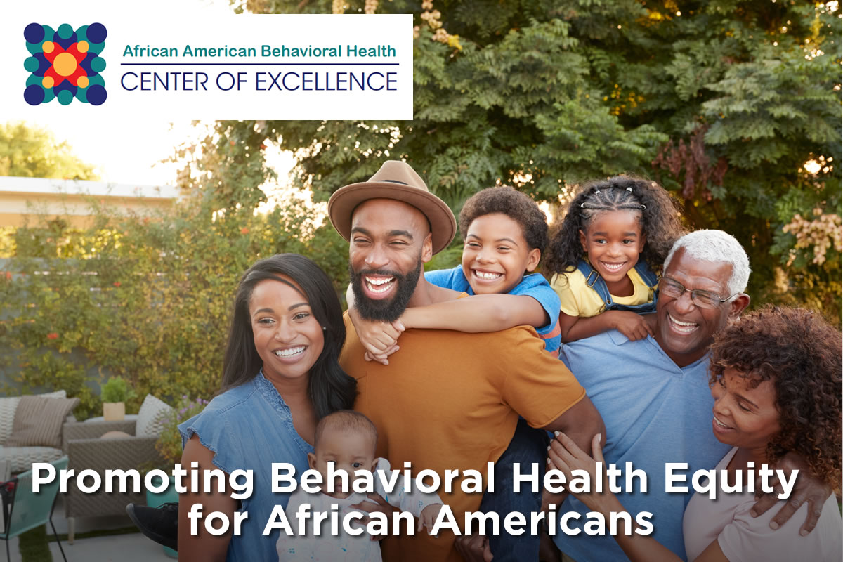 New National African American Behavioral Health Center of Excellence | California Association of Social Rehabilitation Agencies